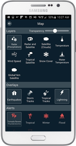KUTV Weather App Settings