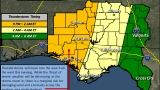 Severe weather possible starting Thursday