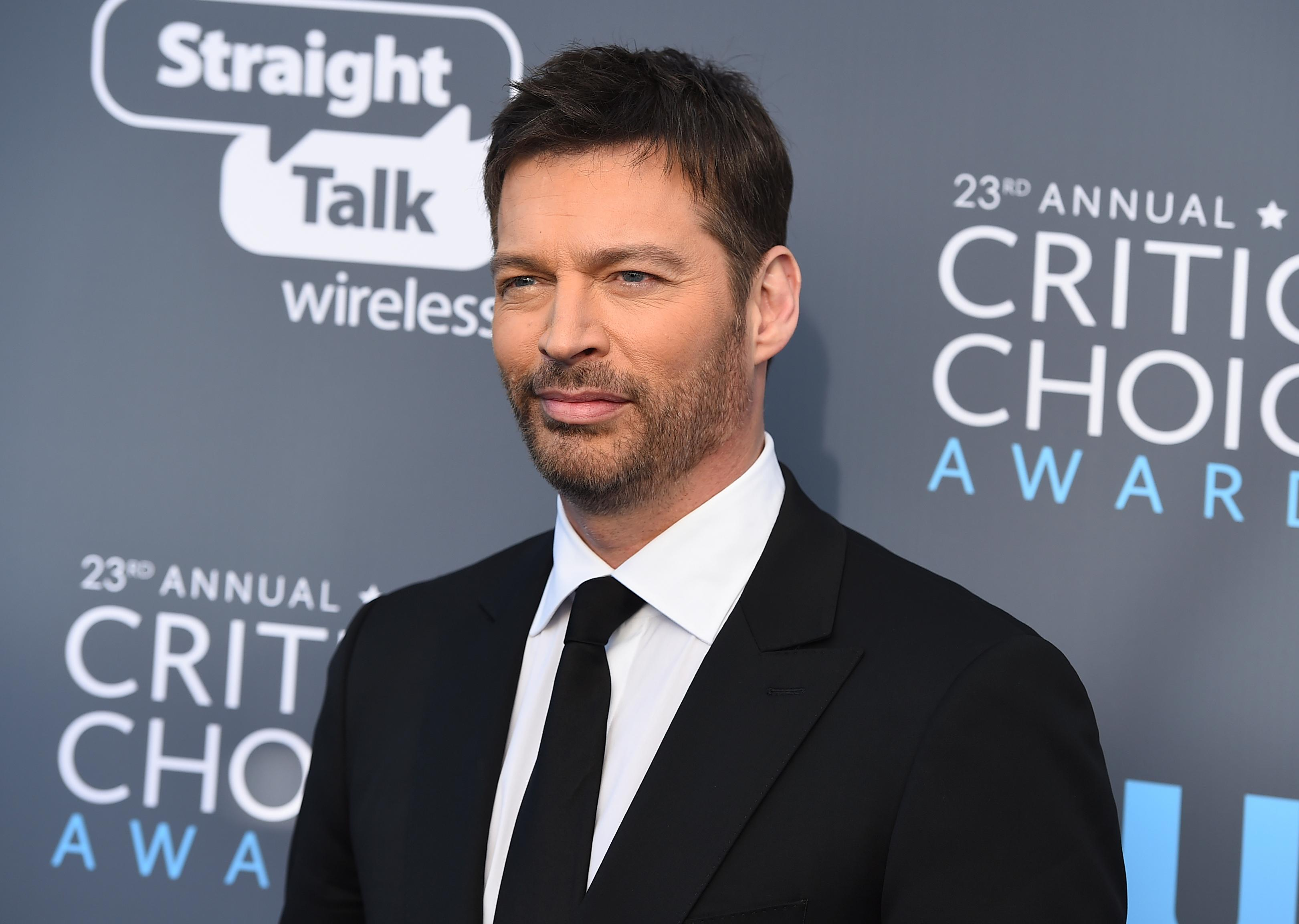 Harry Connick Jr. arrives at the 23rd annual Critics' Choice Awards at the Barker Hangar on Thursday, Jan. 11, 2018, in Santa Monica, Calif. (Photo by Jordan Strauss/Invision/AP)