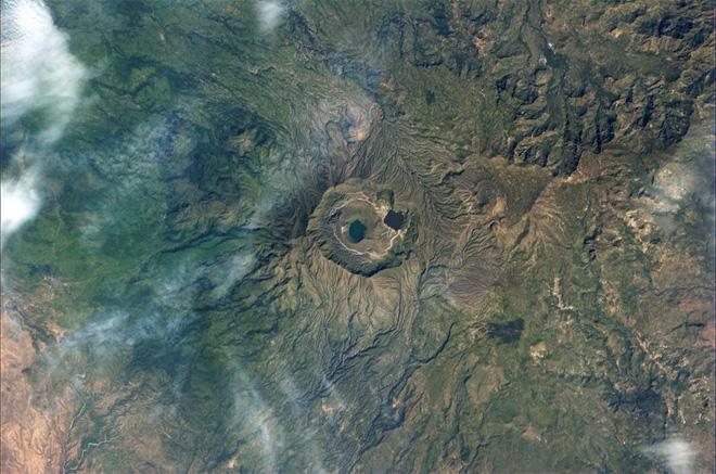 Beautiful yet barren landscapes in the Andes  (Photo & Caption: Luca Parmitano, NASA)