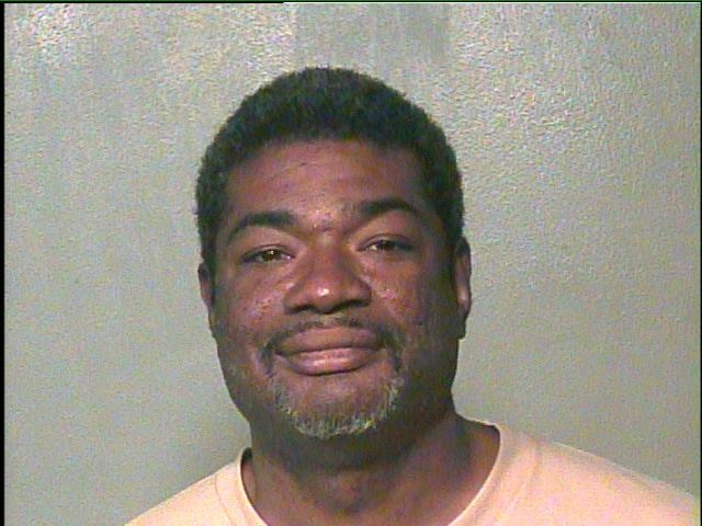 Germaine Coulter, 45, is wanted in connection to an alleged human trafficking ring that recruited young girls from Edmond high schools. (Oklahoma County Jail)