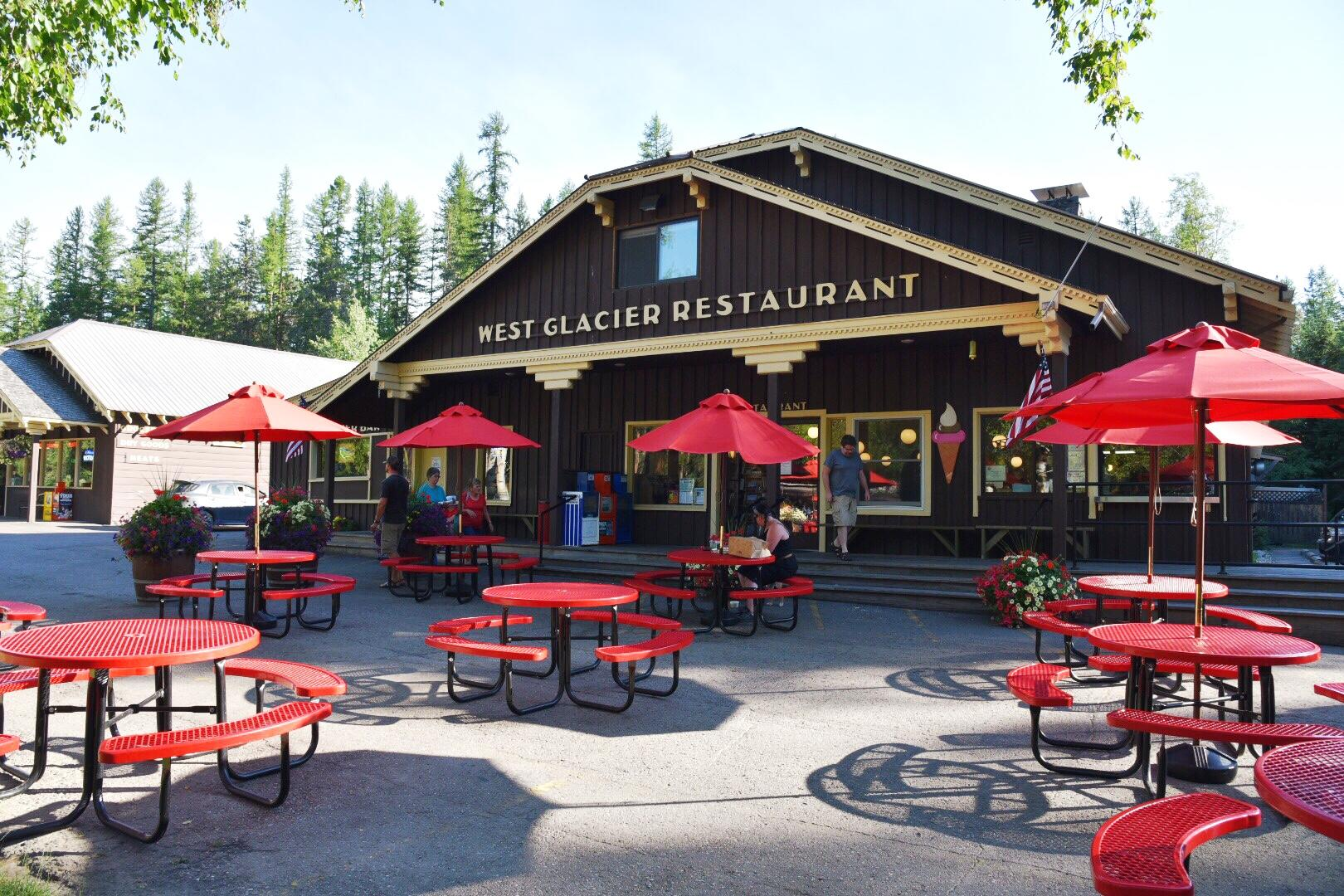 The West Glacier Grill offered a hearty meal that filled us up. The elk burger was a hit as was the homemade pie. (Image: Rebecca Mongrain/Seattle Refined)