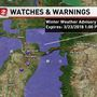 Snow level drops, causing winter weather advisory in parts of Oregon and Washington