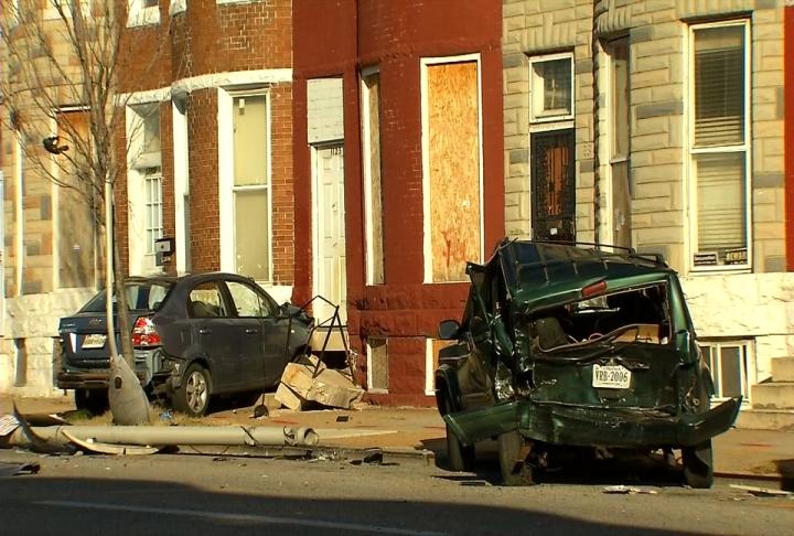 Pedestrian Hit By Car Baltimore