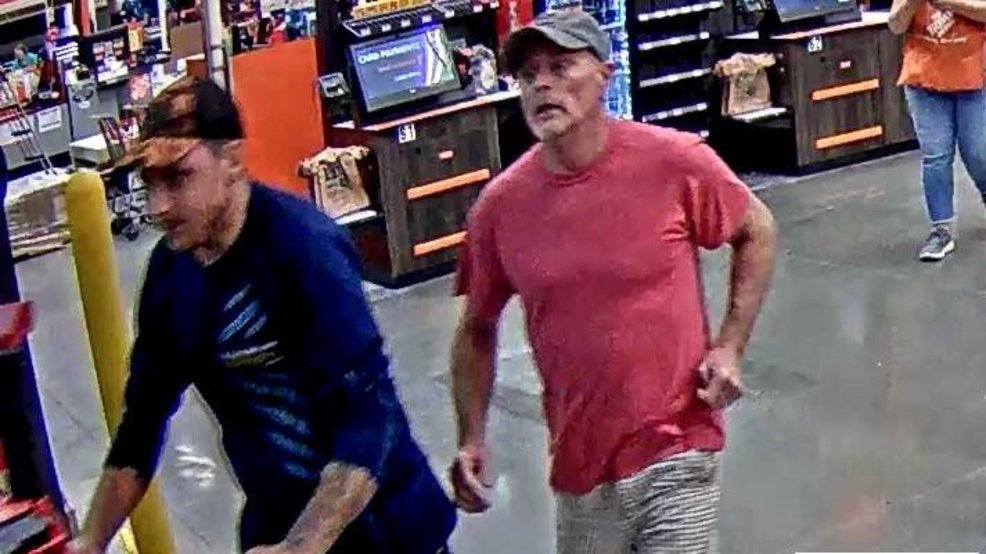 Murfreesboro Police searching for men who stole more than $1,000 in tools from Home Depot