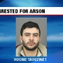 Fairport man arrested for allegedly setting car on fire