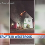 Two people escape fire in Westbrook