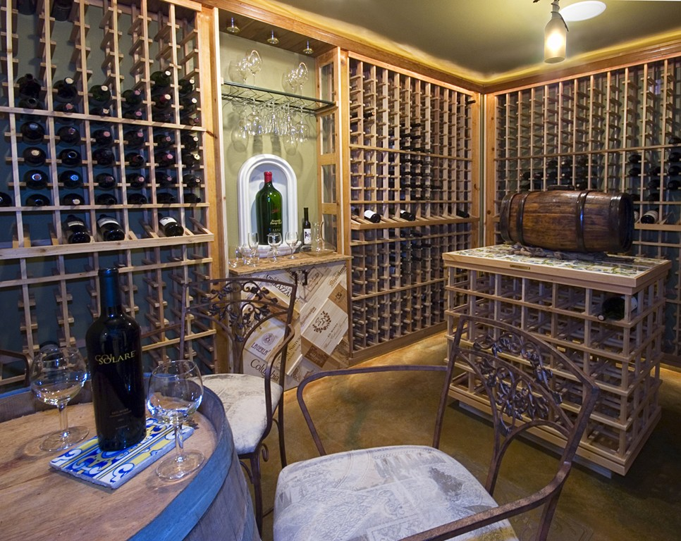 This Stanwood home has a wine cellar worth wooing over. The total project cost was $2 million and was completed by Miller Interior Design.   (Image: Stanwood / Porch.com)
