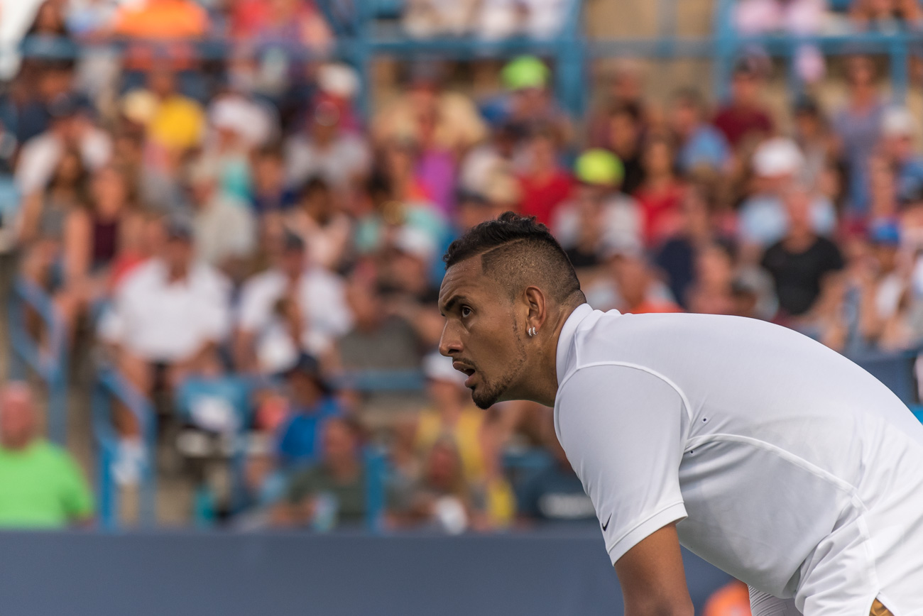 Nick Kyrgios / Image: Mike Menke{ }// Published: 8.14.19