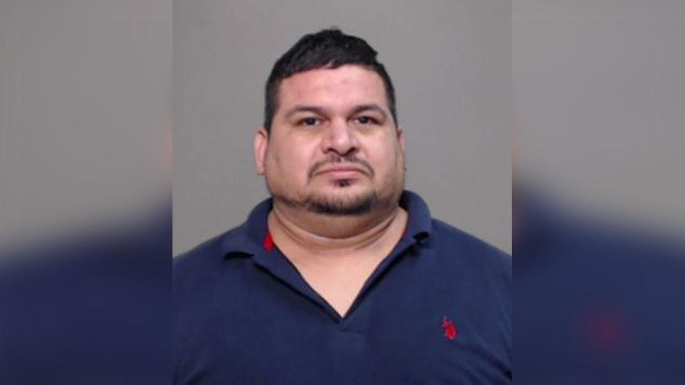Jose Luis Villarreal, 39, of Mercedes was charged with murder Tuesday in connection to the death of Gerardo Alberto Martinez Gomez. (Photo courtesy of the Hidalgo County Sheriff's Office.{&amp;nbsp;}<p></p>