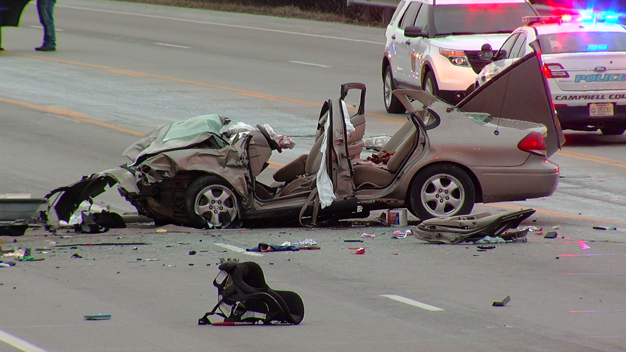 Family of 4, including 2 children, killed in a Corolla. One person killed, one hurt in the Taurus (WKRC)