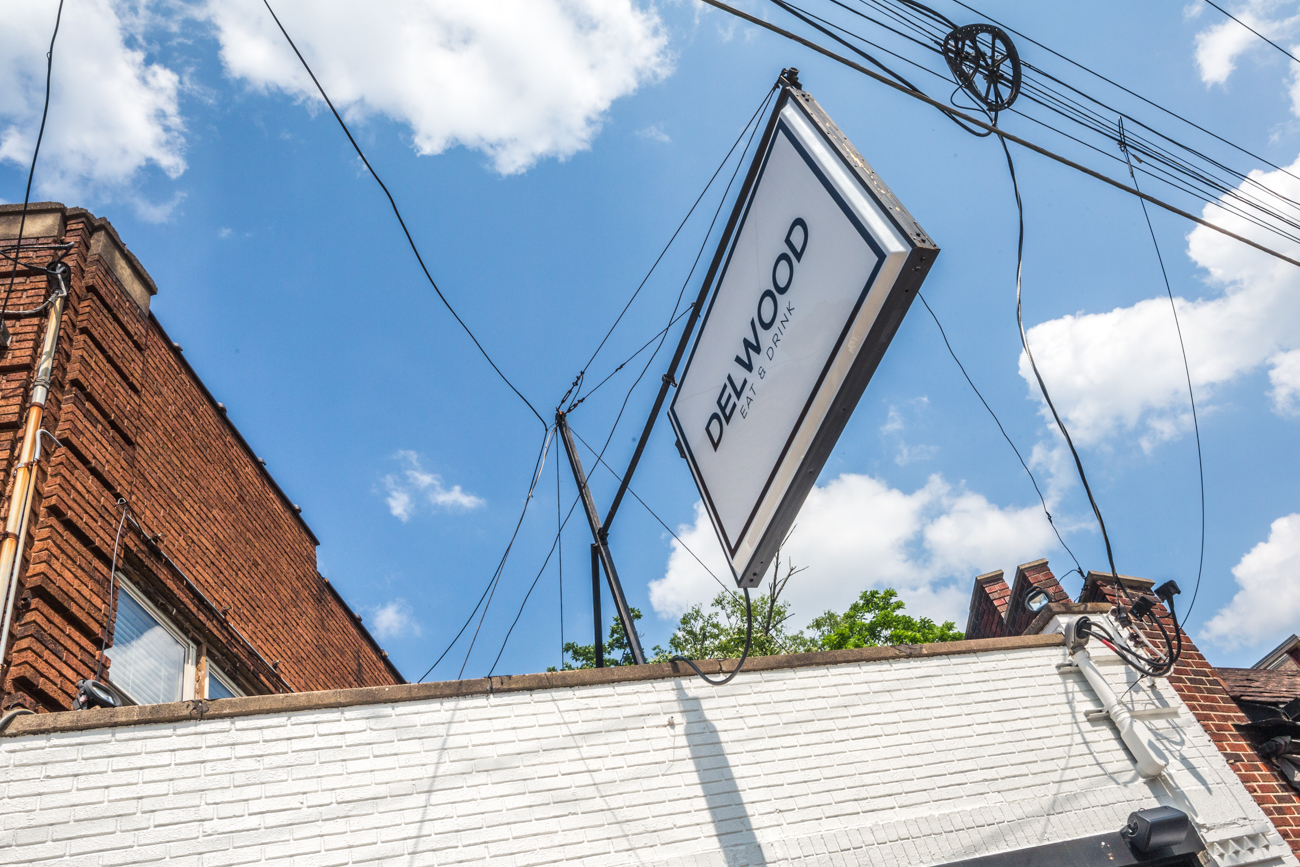 The bar and restaurant has an inviting patio with a bonus: it's dog-friendly! It's also an enthusiastic spot in the neighborhood to catch an FC Cincinnati game and other big sporting events from around the world. Delwood's open Tuesday-Thursday from 4-10 PM, and Friday and Saturday from 4 PM-12 AM. / Image: Catherine Viox // Published: 6.12.19