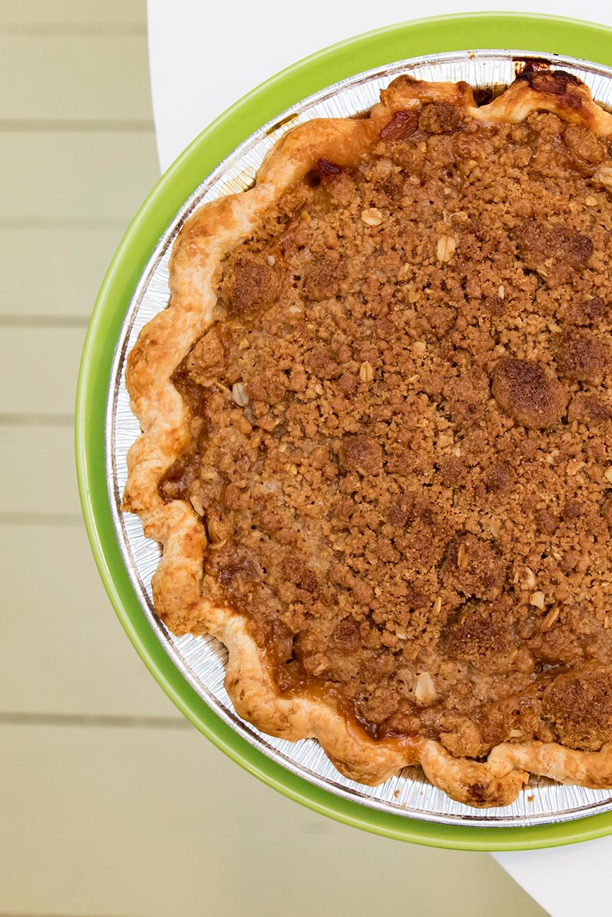 <p>Apple brown sugar pie, a signature pie available all year-round{&nbsp;}/ Image: Allison McAdams // Published: 2.7.19{&nbsp;}</p>