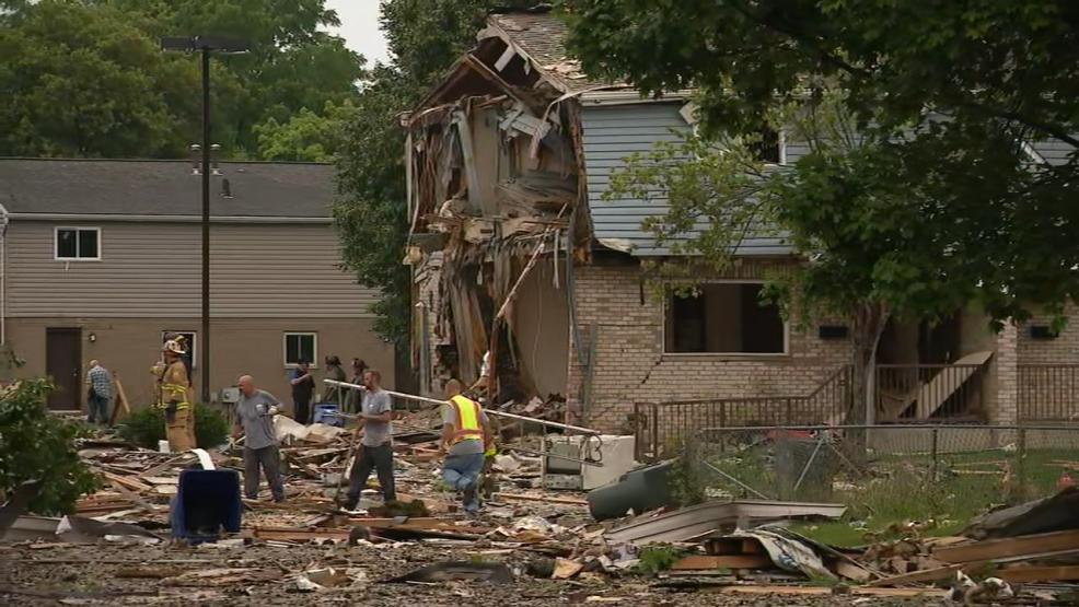Two people were critically injured when a house exploded in east Columbus, near downtown (WSYX/WTTE)