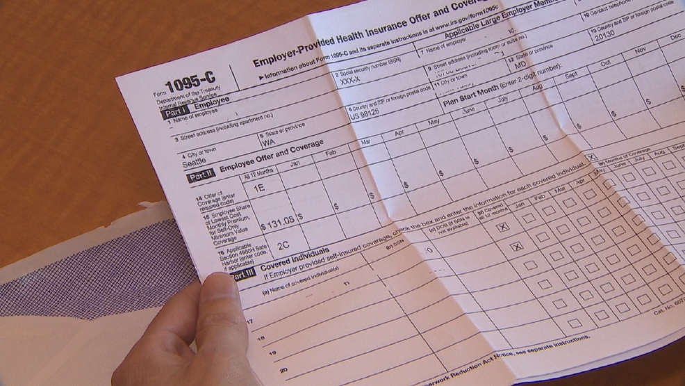 Just get a 1095 tax form in the mail? Don't throw it away