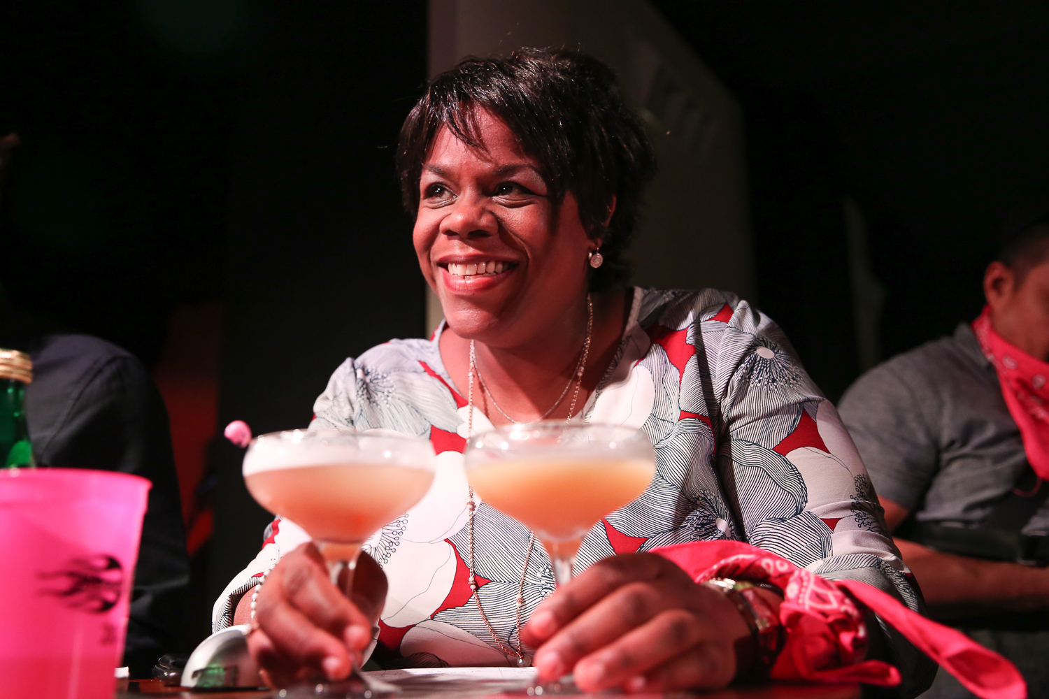 Judge Nadine Brown, a noted sommelier. (Amanda Andrade-Rhoades/DC Refined)