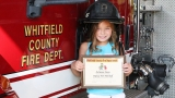 8-year-old credits Whitfield firefighters for saving her family's life in fire