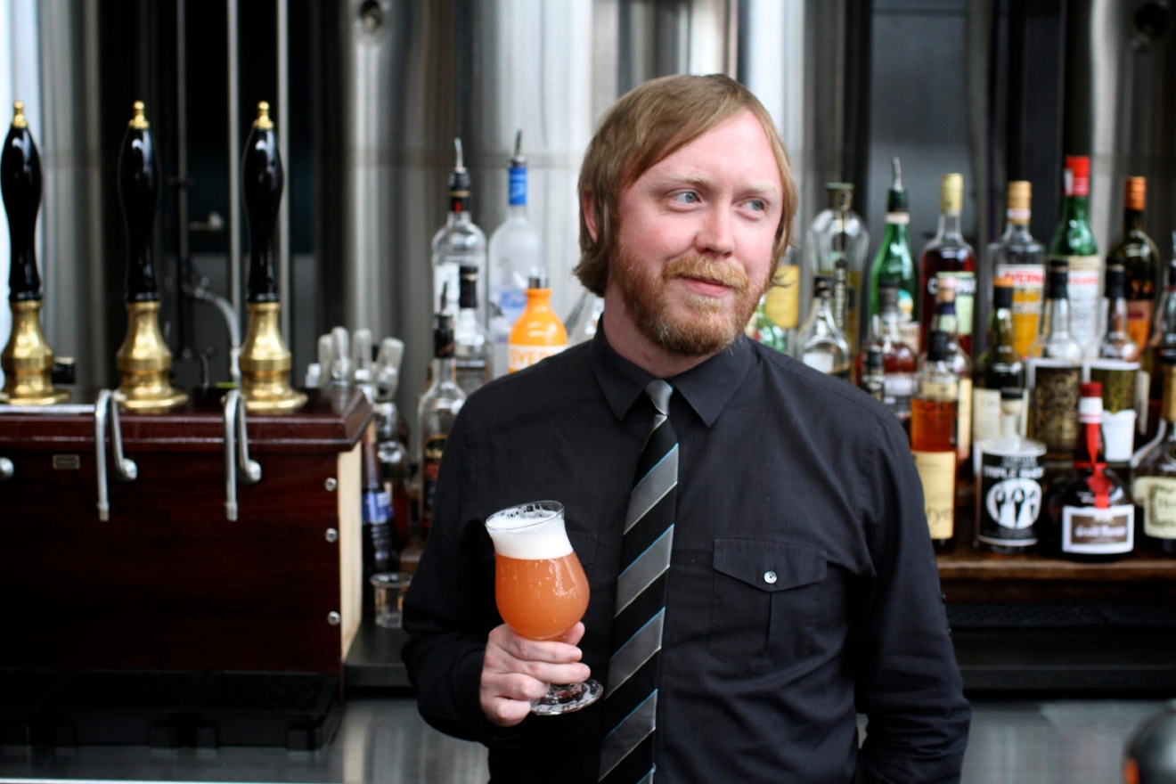 Greg Engert, of the recently opened Belgian beer den The Sovereign in Georgetown, talks myths, favorite bottles and pairing advice for Belgian beers. Three of his fav spots to try Belgians? The Sovereign (not surprisingly!), Belga Cafe and Brasserie Beck. (Image: Stephanie Breijo)