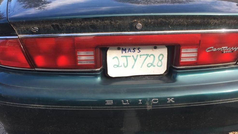 Hopkinton Mass. Pizza Box License Plate