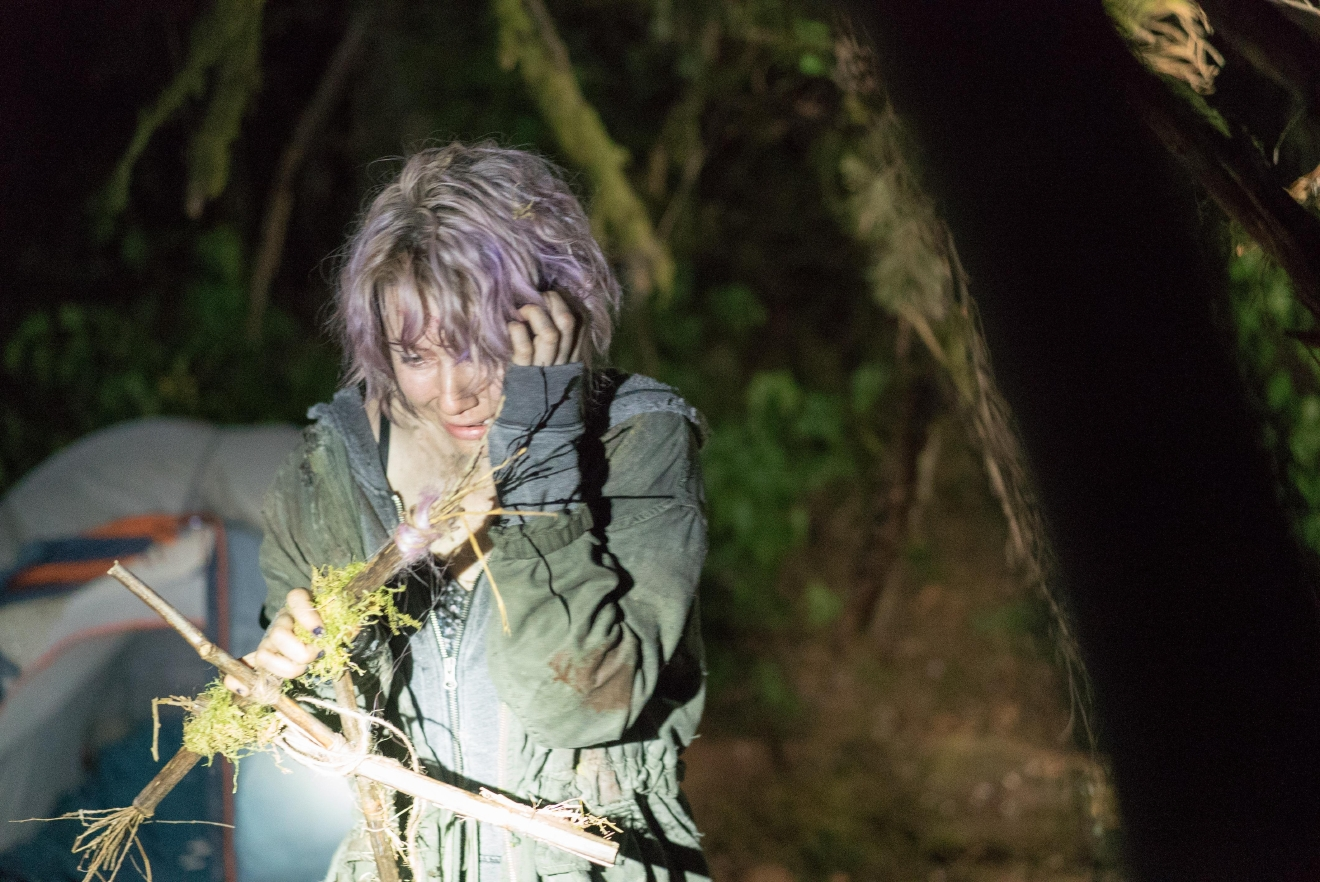 "Valorie Curry stars as Talia in ""Blair Witch."" (Courtesy Lionsgate)"