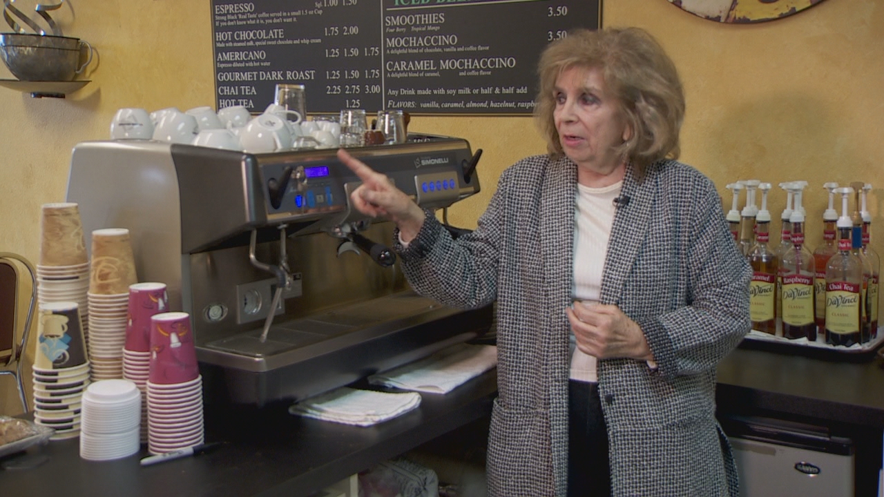 The engine that drives the business, Oksana Fisenko says,{&amp;nbsp;} is a state-of-the-art espresso machine. (KATU){&amp;nbsp;}<p></p>