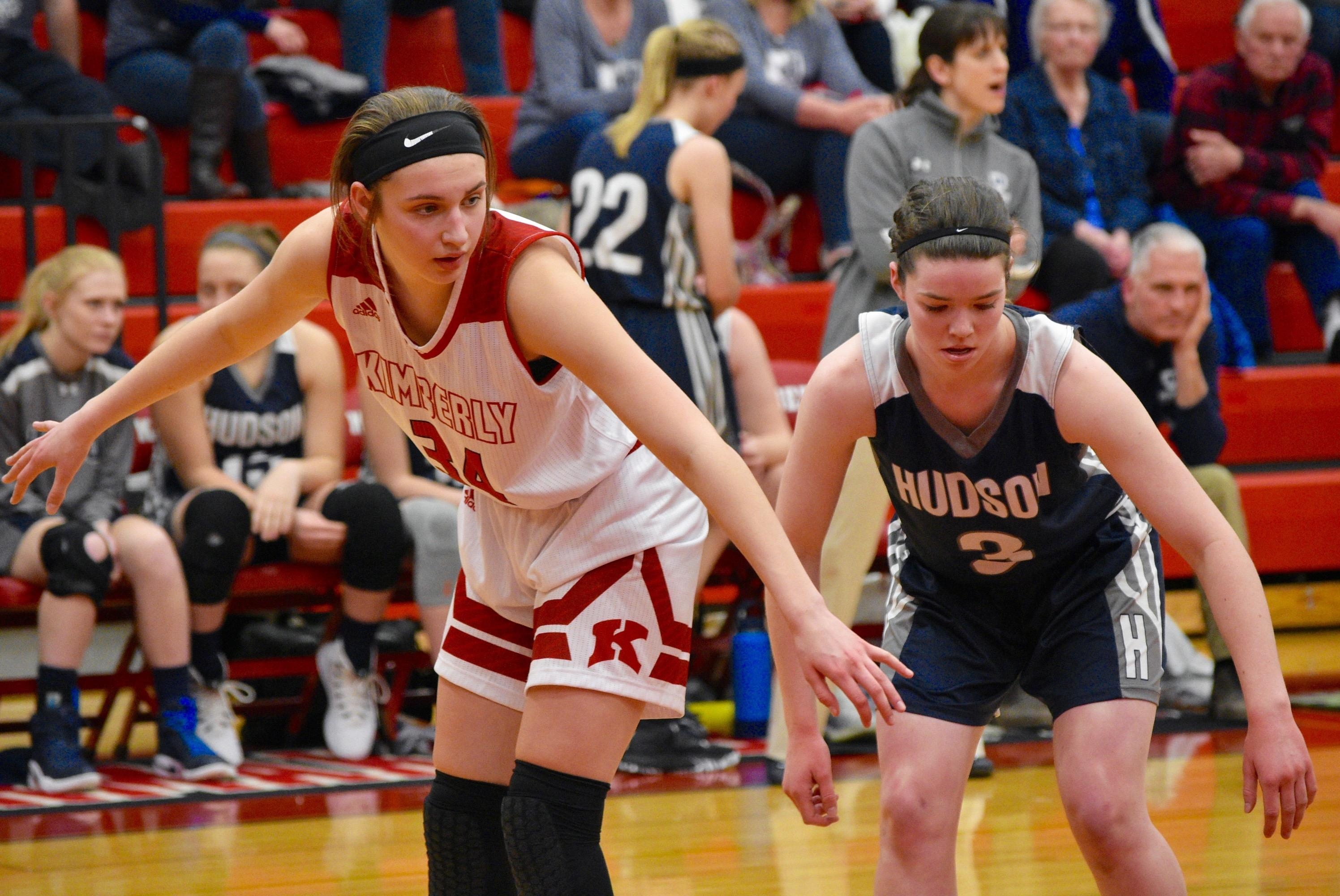 Kimberly defeated Hudson, 57-43, to win a Division 1 regional title on Monday. (Doug Ritchay/WLUK)