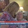 Local church helps wife of elderly evacuee who broke his hip