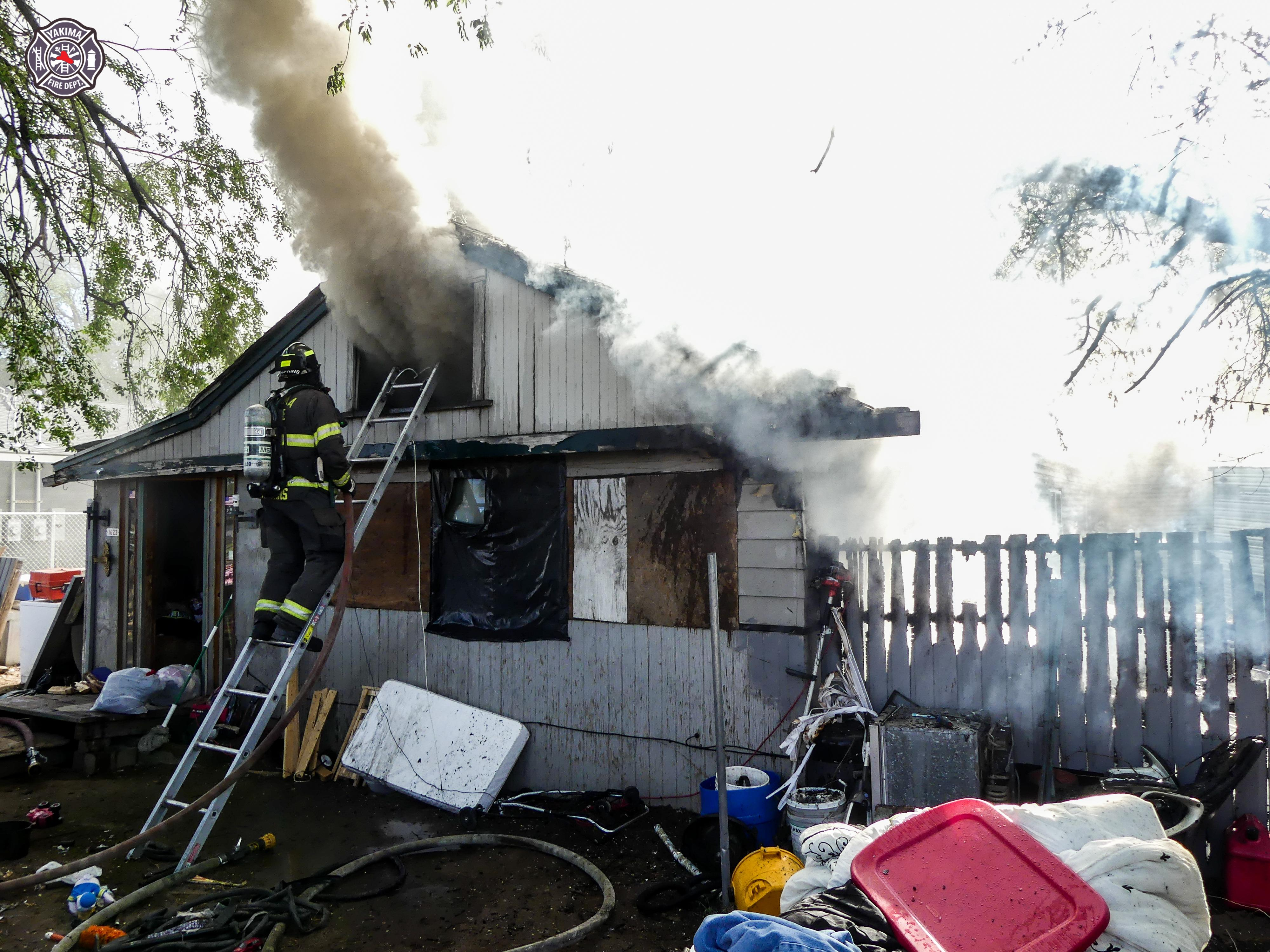 Five residents lose home to fire in East Yakima