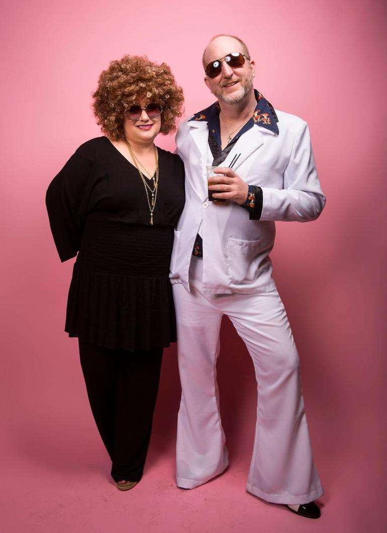 The disco music was flowing at the Swedish Club for ABBA Night - and folks came dressed to impress! Over 500 tickets were sold out within a day. Party on! (Sy Bean / Seattle Refined)