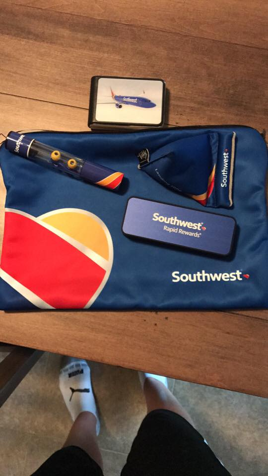 A Southwest Airlines flight from Nashville to Pittsburgh has turned two strangers into lifelong friends, united in the battle against cancer. (Courtesy Stacy Hurt)