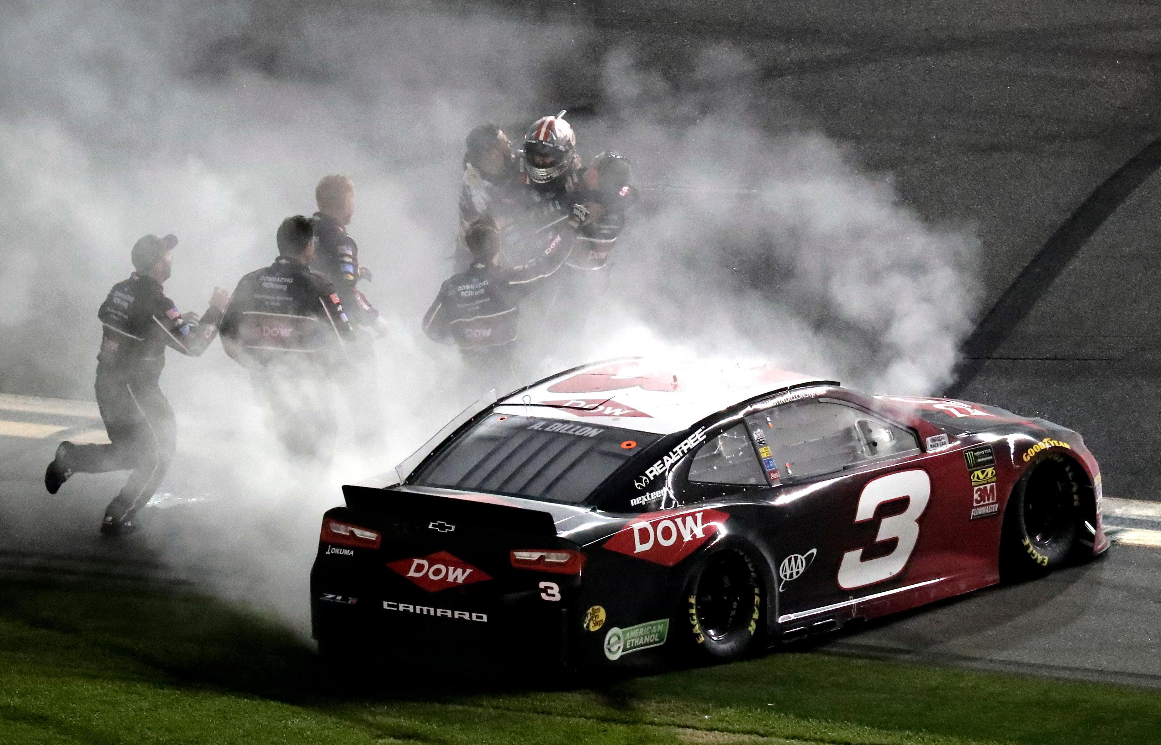 Austin Dillon takes No. 3 back to victory lane at Daytona | KMPH