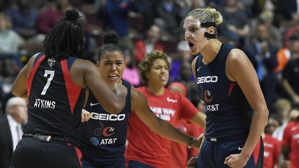 'It's been hard in this series': Mystics host Sun in decisive Game 5 of WNBA Finals