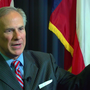 Texas Governor Greg Abbott visiting Beaumont