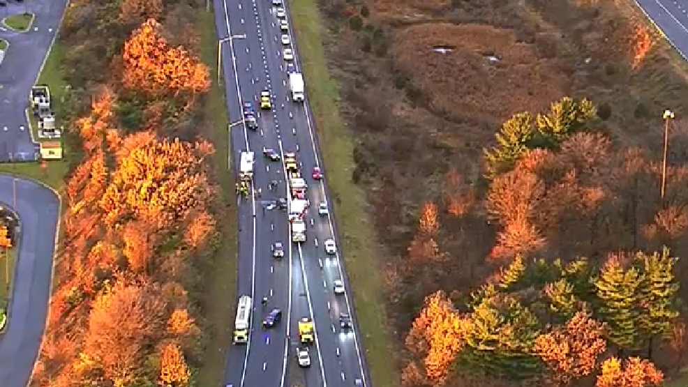 Police: 1 dead in 3-vehicle crash involving tractor-trailer