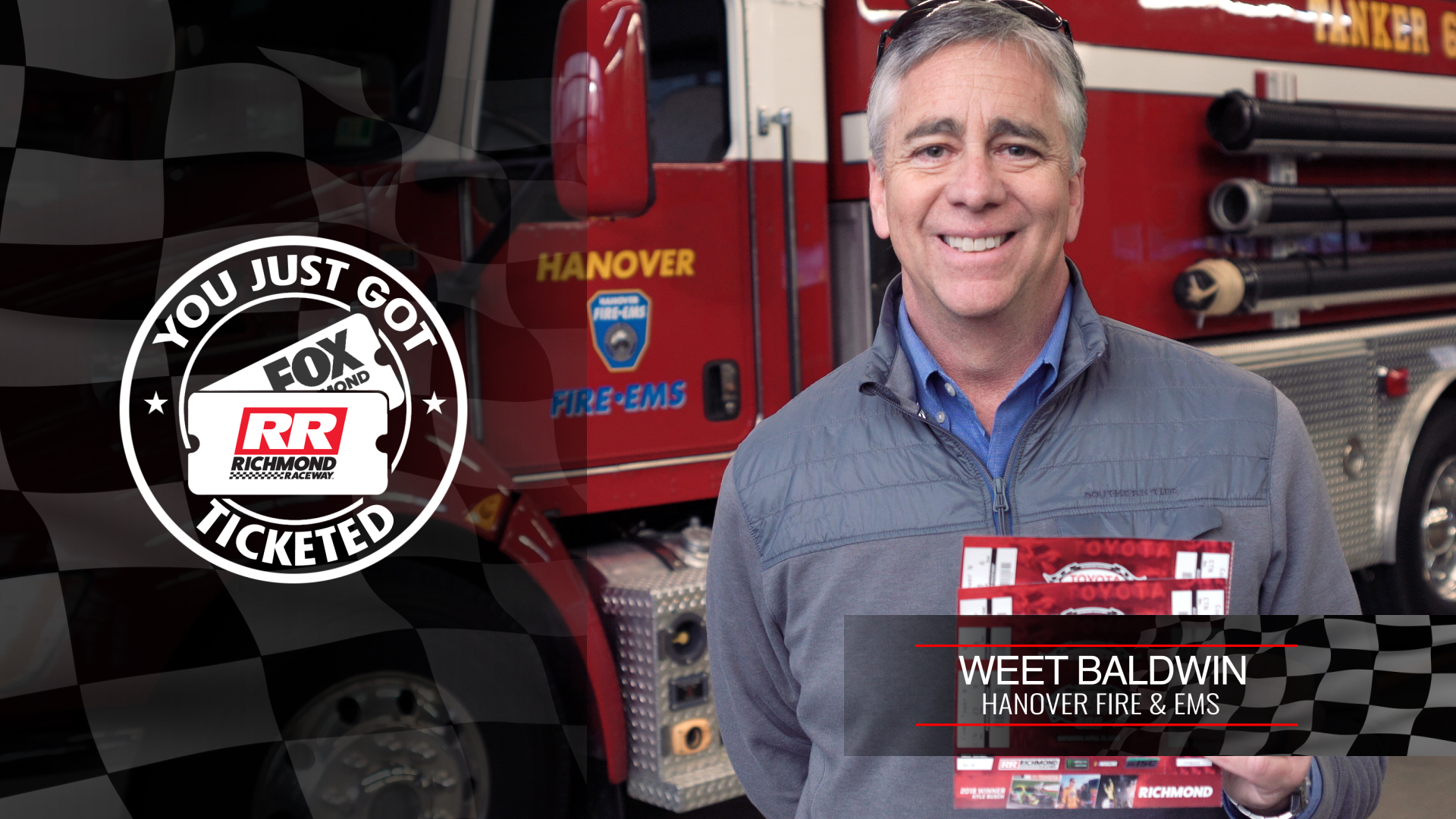Weet Baldwin, Hanover County's 2019 Volunteer Firefighter of the Year