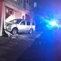 Car crashes into Pawtucket building