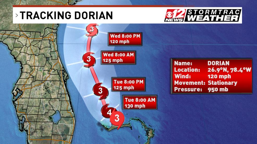 Hurricane Dorian downgrades to Category 3