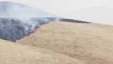 Crews fight grass fire east of Bakersfield