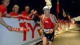 Eighty-year-old doctor competes in triathlons