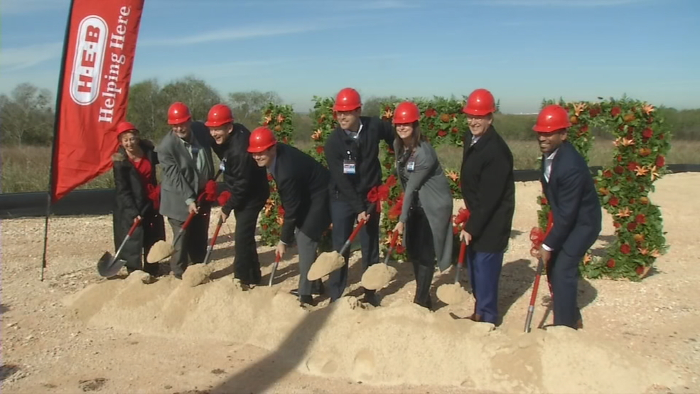 H E B Holds Groundbreaking Ceremony For Company S Largest Warehouse