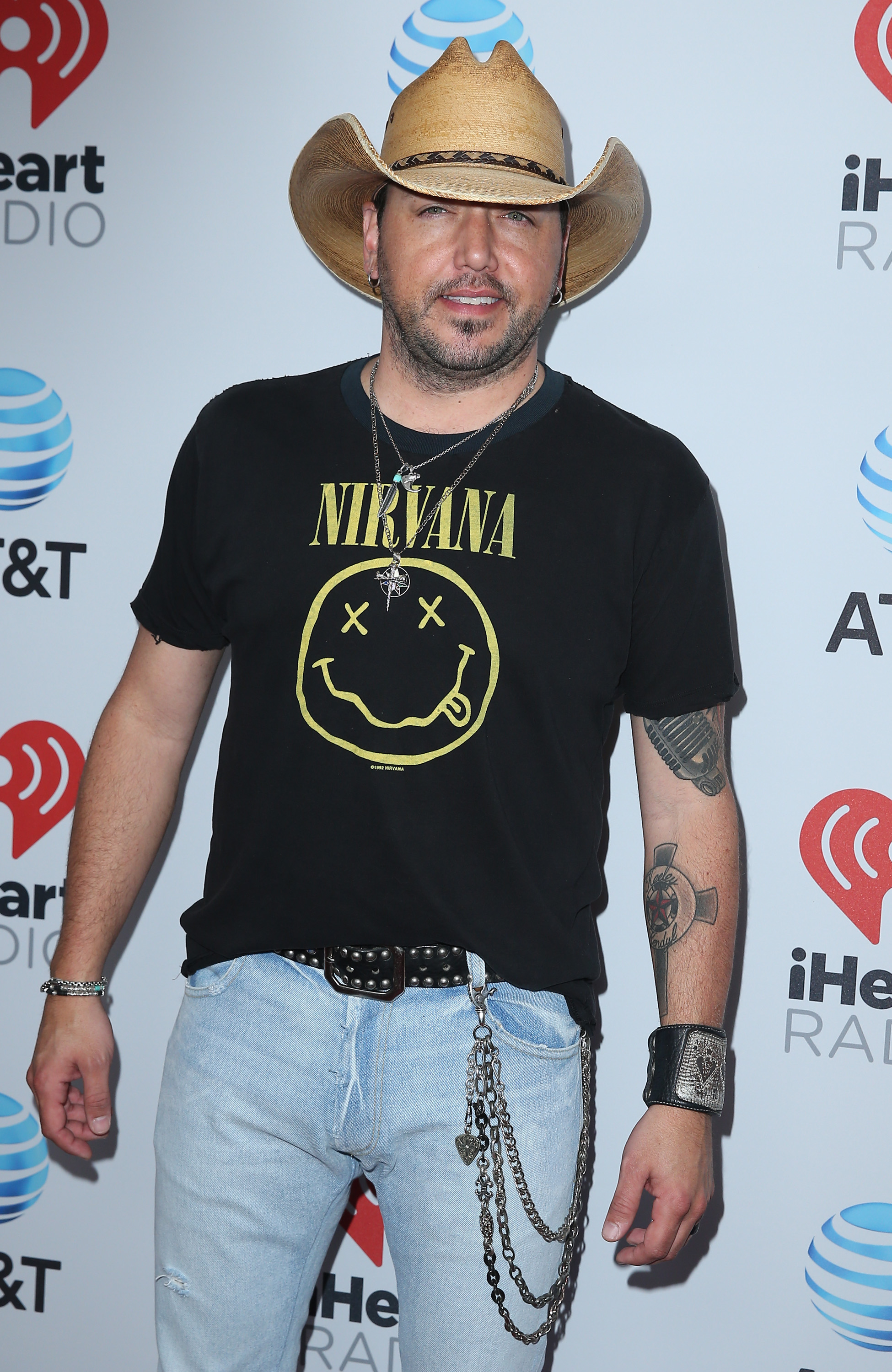 2017 iHeart Country Festival at Frank Erwin Center in Austin - Arrivals                                    Featuring: Jason Aldean                  Where: Austin, Texas, United States                  When: 06 May 2017                  Credit: Judy Eddy/WENN.com