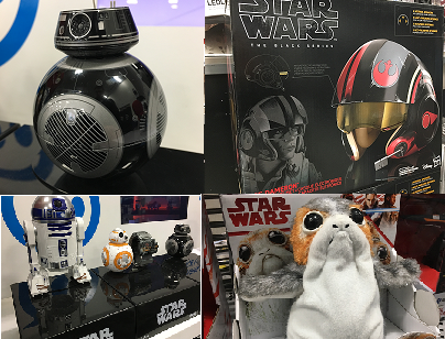 Anything Star Wars: 'The Last Jedi' is here and so is the merch. Star Wars is taking on a new tech spirit this year, with everything from augmented reality, a new console shooter, to remote control droids at all kinds of different price points. Plus Porgs! Porgs make the galaxy better. (Image: Jon Humbert / Seattle Refined)<p></p>