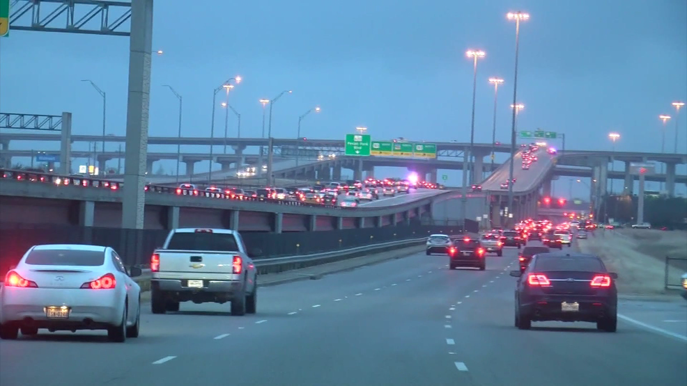 Icy Conditions Cause Brief Closure Of A KEYE - 183a toll road map
