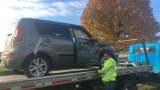 Two-vehicle crash in Quincy sends one to hospital