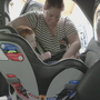 Why old or used child car seats might not give the best protection in a crash