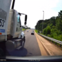 CAUGHT ON CAMERA: Video shows scary moment semi-truck came into Bradley Co. driver's lane