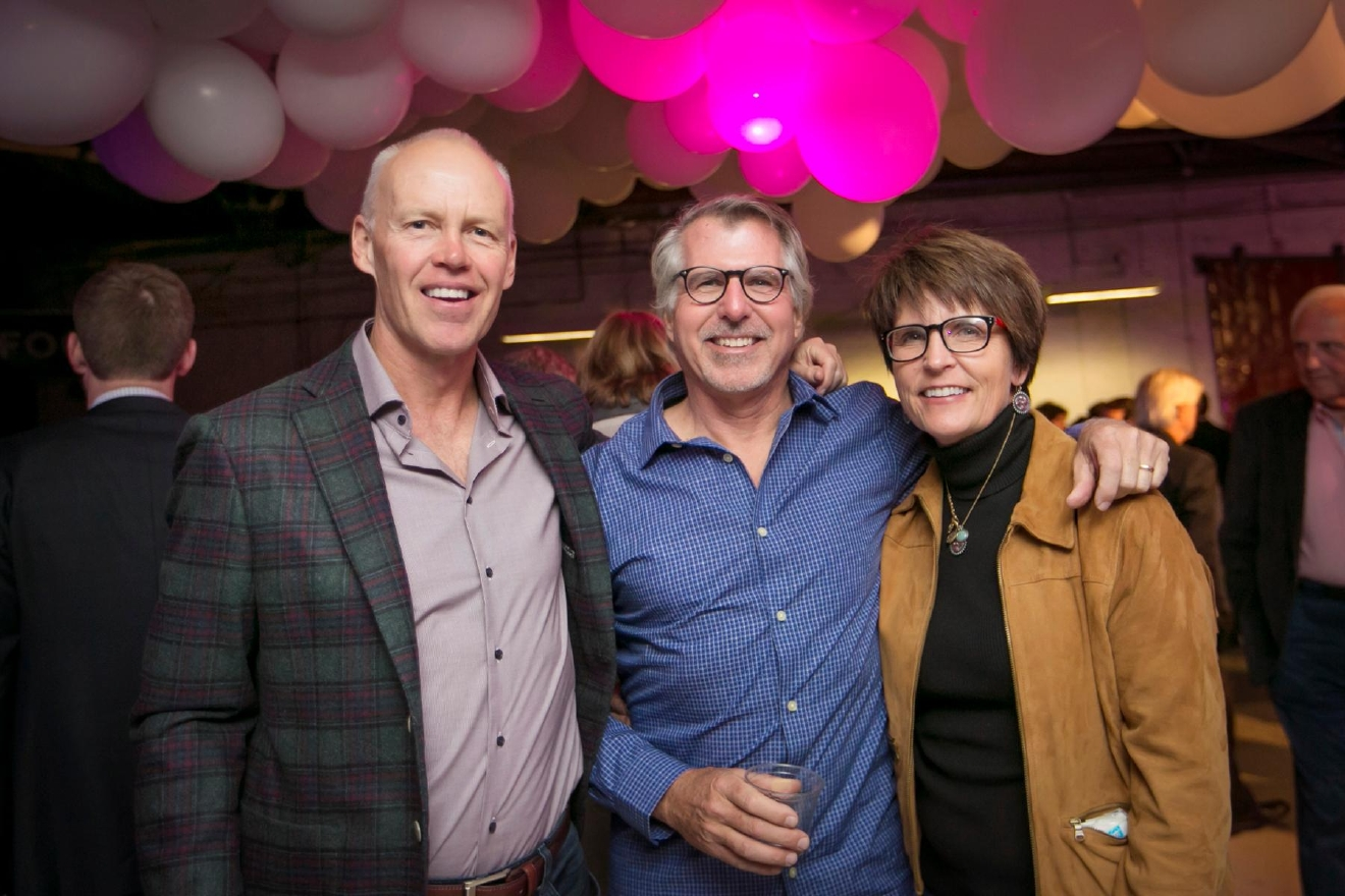Scott Miller, Fritz Geer and Lori Miller / Image: Mike Bresnen Photography