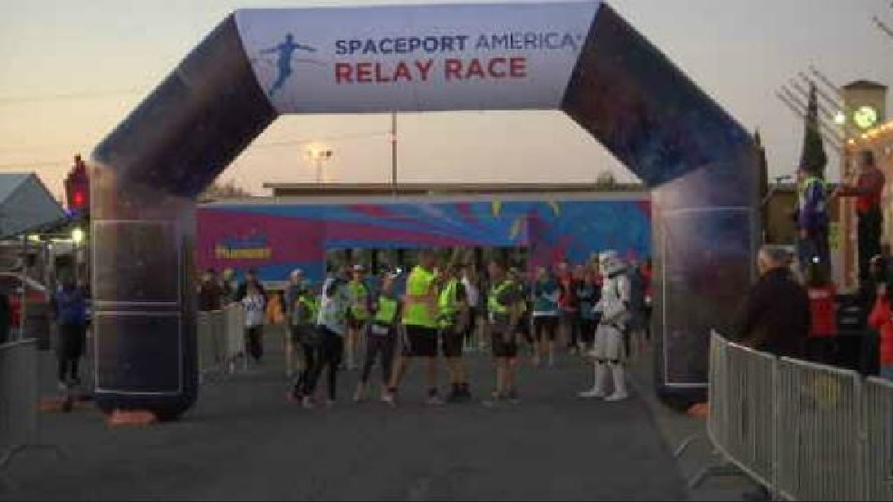Unique race from el paso to spaceport starts off at for El paso america