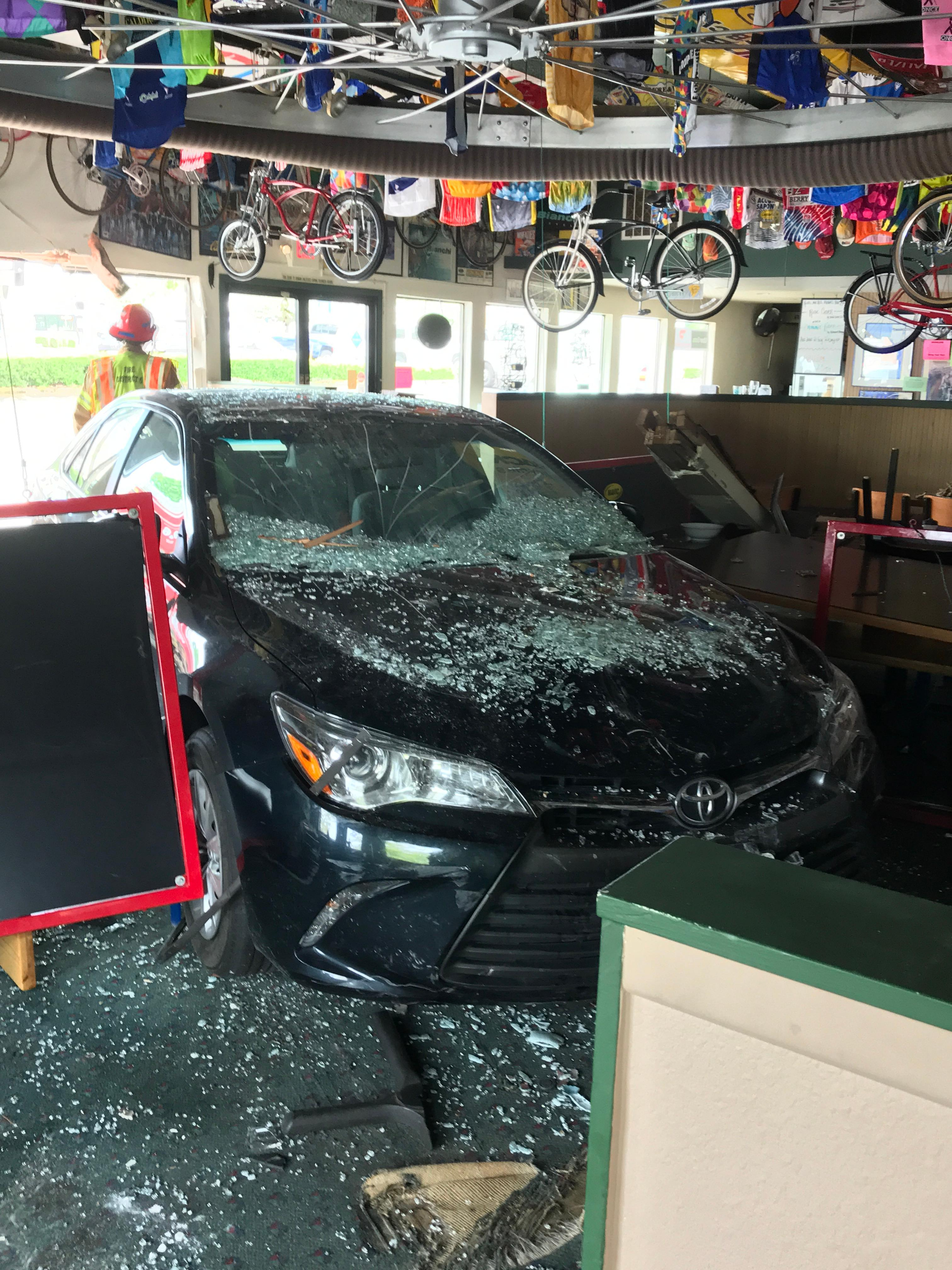 Driver crashes into Hazel Dell pizza shop - Clark County Fire District image - 5.jpg