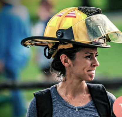 Pregnant firefighter seeks change in policy for mothers-to